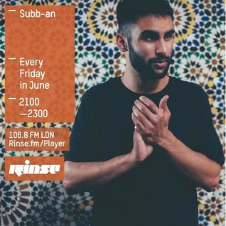 Rinse Fm Show 12th June 2015