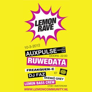 Ruwedata -Lemon Rave mix