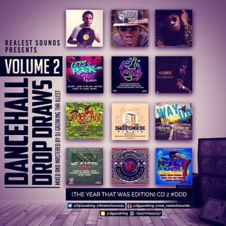 DANCEHALL DROP DRAWS VOL 2 (THE YEAR THAT WAS EDITION)  CD - 2