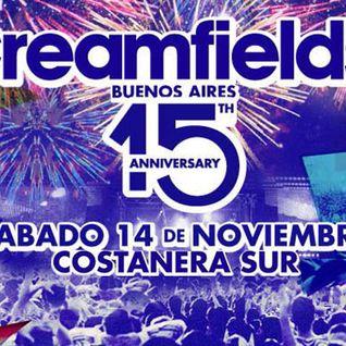 Sven Vath - Live @ Creamfields (Buenos Aires, Argentina) - 14.11.2015