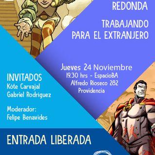 Mesa Redonda Trabajando en comic para el extranjero