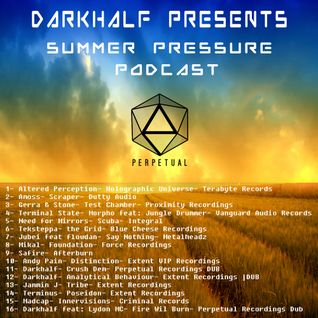 Darkhalf's Summer pressure Podcast