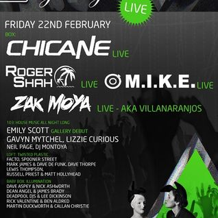 M.I.K.E. - Live @ The Gallery, Ministry of Sound (London) - 22.02.2013