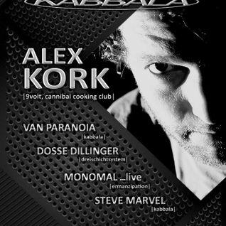 Alex Kork live @ Rakete Nürnberg 07.02.2014