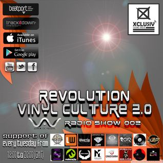REVOLUTION VINYL CULTURE 2.0 - Podcast 03 (mixed by Virax Aka Viperab)