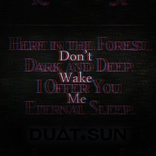 Dont wake me