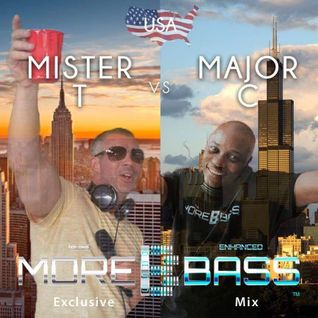 More Bass Exclusive Mix, Episode Twenty One.  NYC Meets CHI...Mister T & Major C