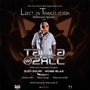 Talla 2xlc - Live @ Lost in Trancelation (Florida) - 30.10.2015