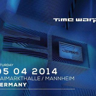 Karotte - Live @ Time Warp 2014 (Mannheim, Germany) - 05.04.2014