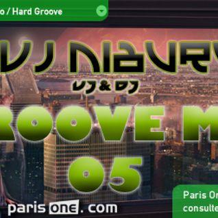 Dvj Niburu - Groove Me 05 (Paris One Reverse)