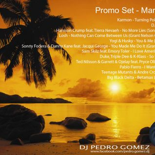 DJ Pedro Gomez - Promo Set - March 2013