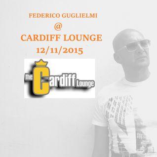 FEDERICO GUGLIELMI @ CARDIFF LOUNGE - CAMPBELL (USA) 12/11/2015