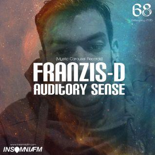 Franzis-D - Auditory Sense 068 @ InsomniaFm - Feb 12, 2015