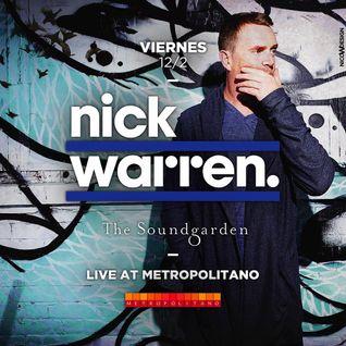 Nick Warren - Live at Soundgarden, Metropolitano, Rosario, Argentina (12-02-2016)