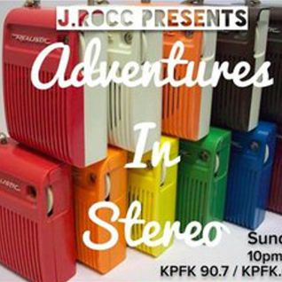 Adventures In Stereo with J.Rocc - Sunday, June 7, 2015