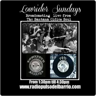 Lowrider sundays at The Santanas Oldies Soul Show