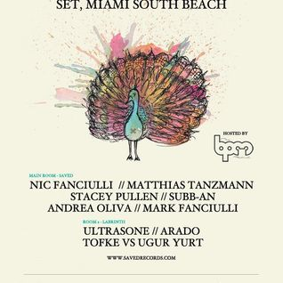 Andrea Oliva - Saved Records Party, WMC 2012 (Miami, USA) - 20.03.2012