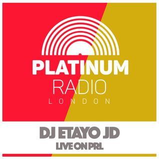 DJ Etayo JD / Thursday 1st September 2016 @ 2pm - Recorded Live On PRLlive.com