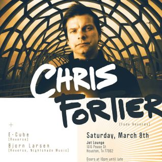 Chris Fortier - Live at Jet Lounge, Houston, US (08-03-2014)