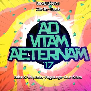 DRUM&BASS - AD VITAM AETERNAM #17 -  LABO in da Mix (19_03_2016) Recorded live @ Rennes