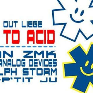 Stefan ZMK @ Escape to Acid - Liege Belgium 2014 [acid|techno|tekno]