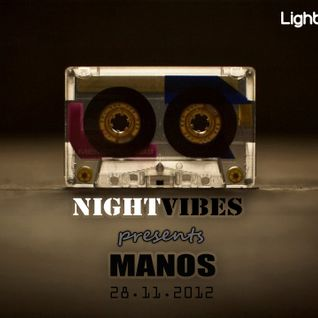 NIGHT VIBES Mix Show, 28.11 Guestmix MANOS