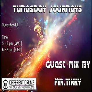 Tunesday Journeys #20 Guest mix by Mr. Tikky [UK] - Live on DDZ [01-12-15]