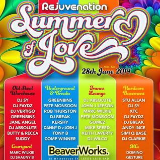 Pete Monsoon @ Rejuvenation - Summer of Love (Trance Classics) June 2014