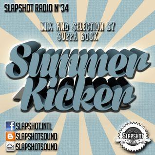 "Slapshot radio n°34 ""Summer Kicker"""