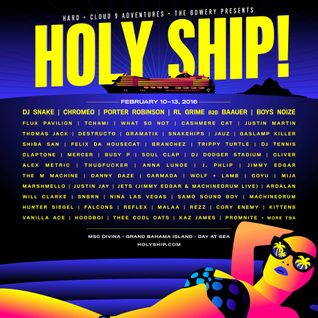 Boys Noize - Live @ Holy Ship 2016 - Feb 2016