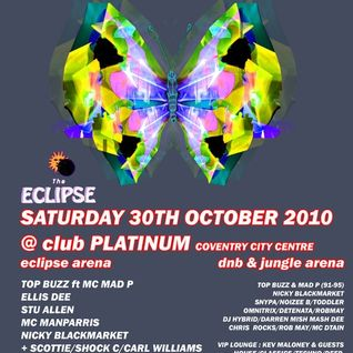 DJ Scottie - The Eclipse 20th Anniversary Reunion Set. 1990-1992 Old Skool Coventry. 30-10-2010