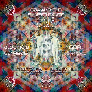 "Al Sāmājo @ ZNA2015 ""Goa Ambient Sunset Dance"""