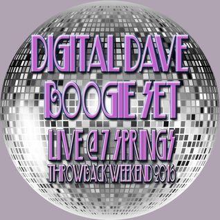 DJ Digital Dave Boogie Set - Live From 7 Springs Throwback Weekend 2016