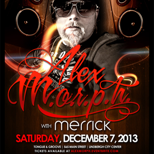Live Warm-Up Set for Alex Morph @ Tongue & Groove ATL