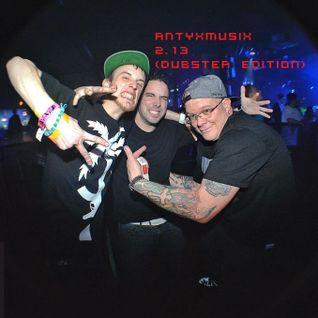 ANTYXMUSIX podcast ep. 002 (DUBSTEP EDITION)