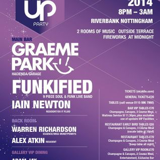 This Is Graeme Park: Pop Up Party New Year's Eve @ The Riverbank Nottingham 31DEC14 Live DJ Set