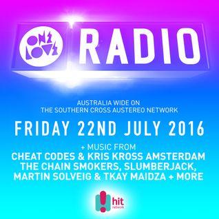 onelove radio 22nd July 2016