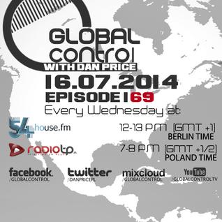 Dan Price - Global Control Episode 169 (23.07.14)