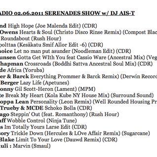 Serenades Show 02.06.2011 on Basso w/ DJ Ais-T