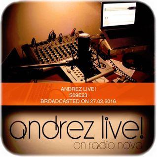 Andrez LIVE! S09E23 On 27.01.2016