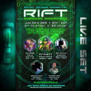 RIFT: Crossing Dimensions (Live Set)