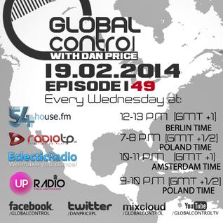 Dan Price - Global Control Episode 149 (19.02.14)