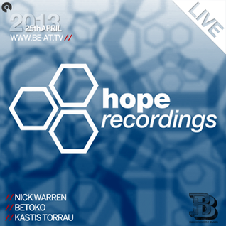 Nick Warren @ Hope Recordings Showcase (Bedroom Bar) 25-04-2013