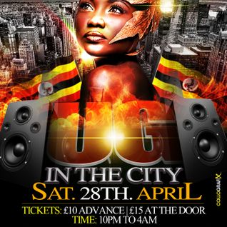 UG IN THE CITY @ CLUB 2AD (SAT  28TH/04/12)