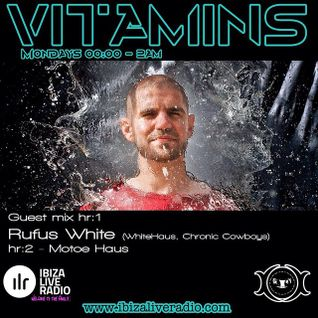 Rufus White on the Ibiza Live Radio #Vitamins Show 30.3.2015 (Recorded Live)