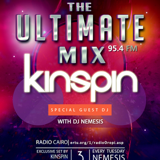 Nemesis - The Ultimate Mix Radio Show (041) 03/11/2015 (Guest KinSpin)