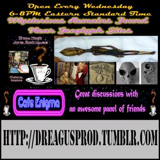 Cafe Enigma-Mysterious Remains at Nazca