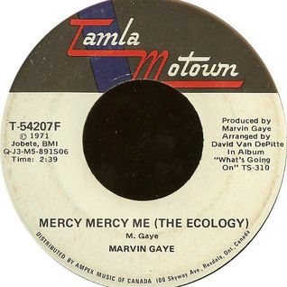 Marvin Gaye - Mercy Mercy Me (The Ecology) (Remixed by Pied Piper)