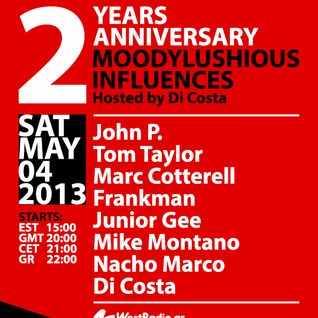 MoodyLushious Influences Episode 25 (2nd Anniversary Edition) (Exclusive Host Mix By John P.)