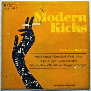 Modern Kicks on KFAI - 08/06/2014